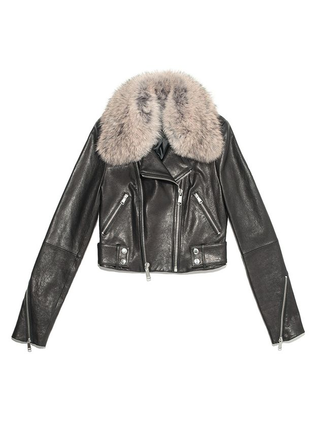 Andrew Marc Beth Leather Jacket
