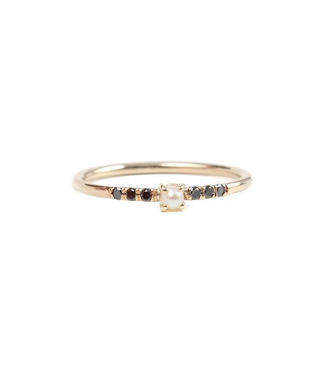 Jennie Kwon Equilibrium Pearl Ring