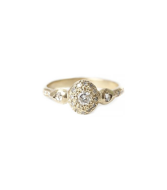 Elisa Solomon Ancienne Diamond Ring