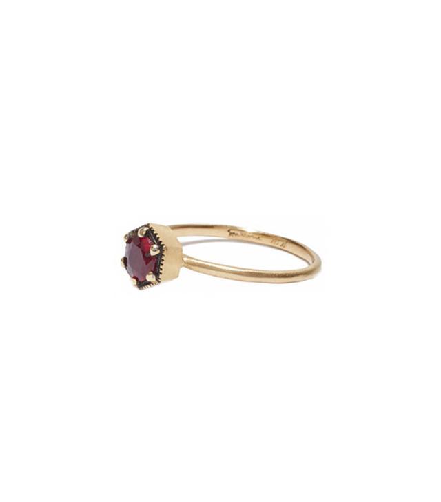 Satomi Kawakita Ruby Ring