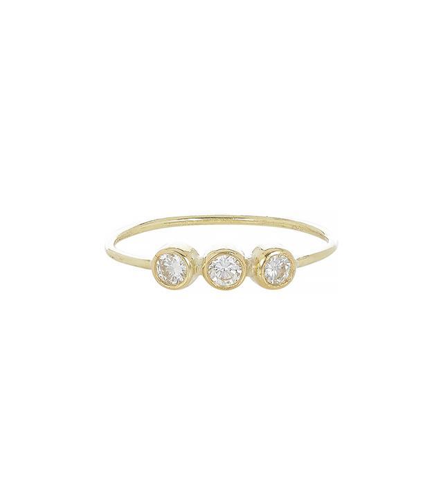 Jennifer Meyer Triple Diamond Ring