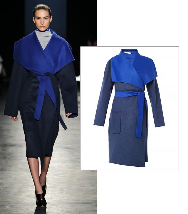 Altuzarra Chirico Bo-Colour Wool Blend Coat