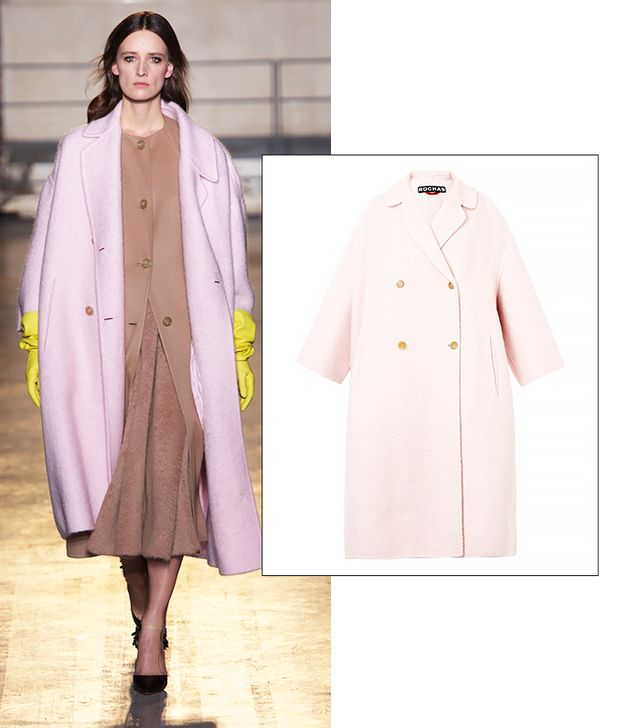 Rochas Textured Mohair and Wool-Blend Coat