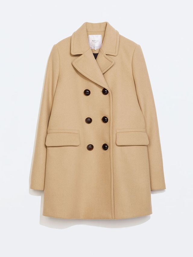 Zara Zara Button Coat