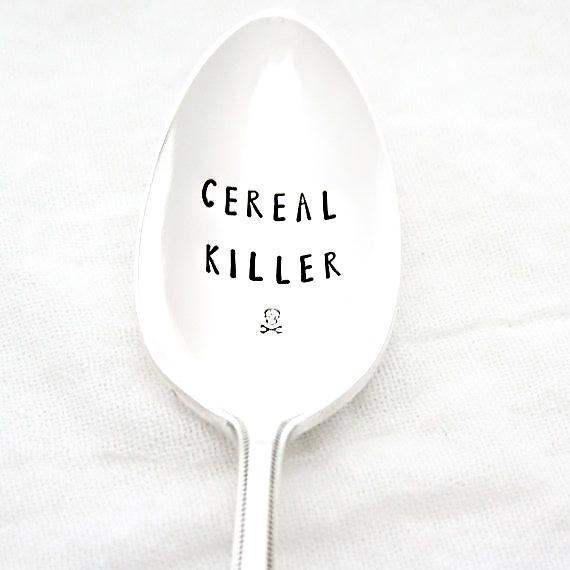 Etsy Cereal Killer Spoon