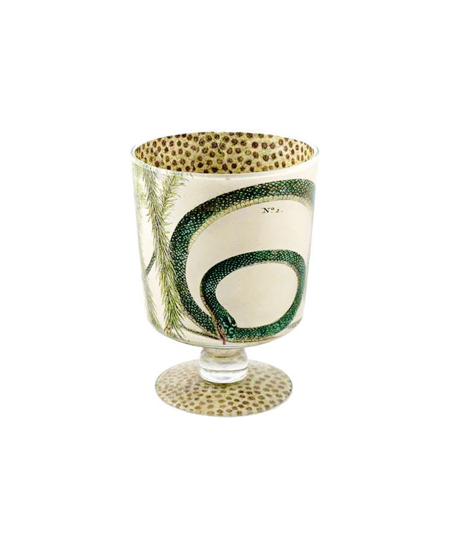 John Derian Snake Cache Pot