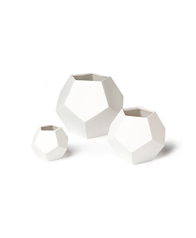 Dwell Studio,Target Threshold Faceted White Vase