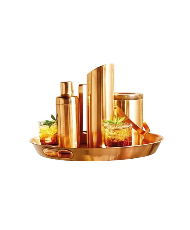 Target Threshold Copper Plated Stainless Steel Barware Collection