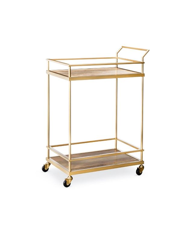 Target Threshold Gold Bar Cart