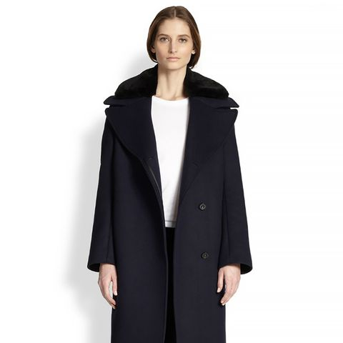 Era Lamb Shearling- Trimmed Coat