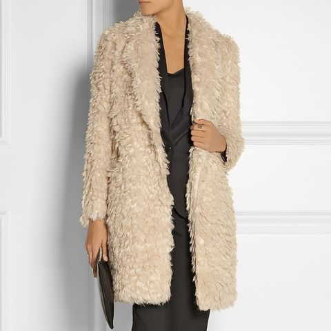 Iris Faux Shearling Coat