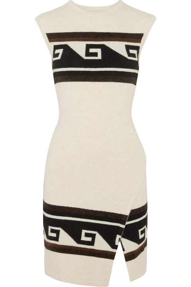 Isabel Marant Sandy Wrap-Effect Mini Dress