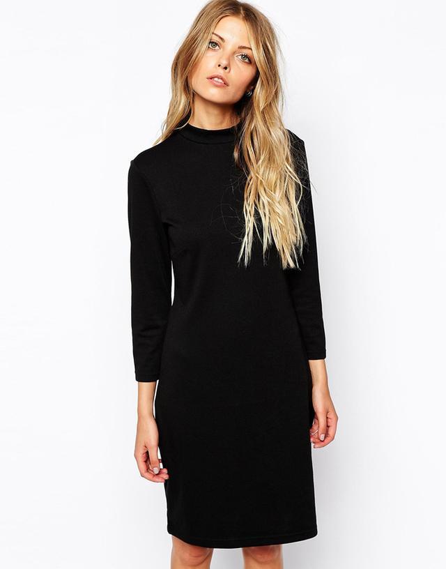 Vila High Neck Dress