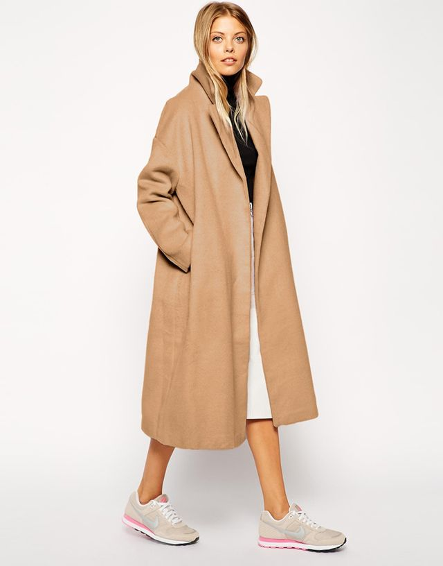 ASOS Relaxed Oversized Fit Coat