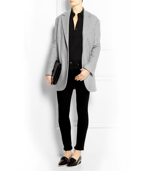 Maison Martin Margiela Wool-Blend Felt Coat
