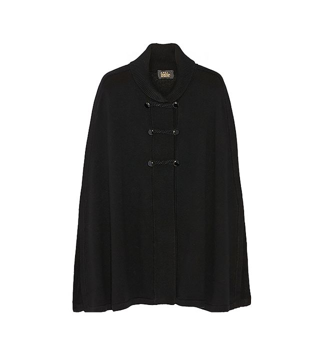 A.P.C. + Vanessa Seward Wool and Cashmere-Blend Cape