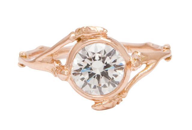 Bittersweet NY Brilliant Diamond Twig Ring