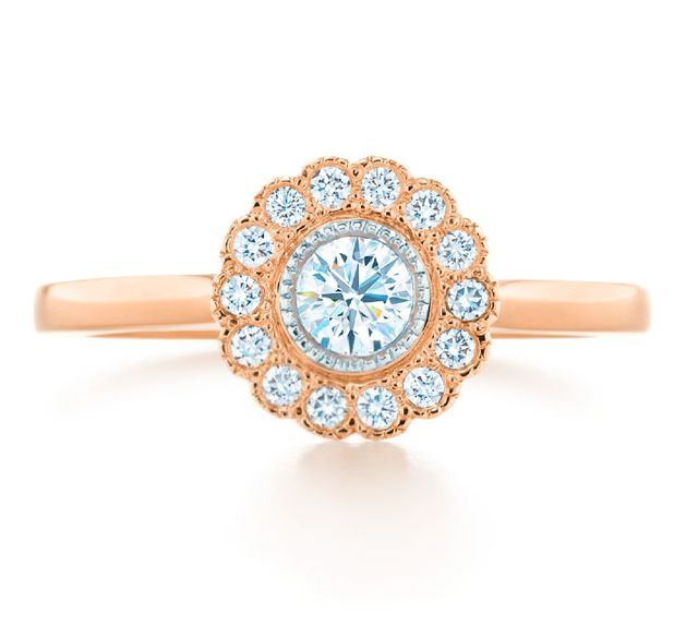 Tiffany Flower Ring