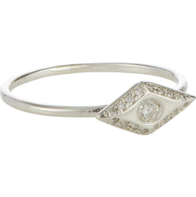 Wendy Nichol Diamond & Sterling Silver Victorian Eye Ring
