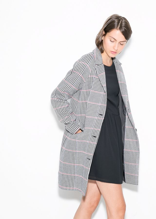Mango Prince of Wales Coat