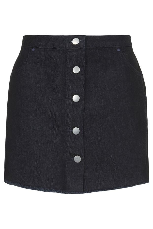 Marques'Almeida x Topshop Denim Pelmet Skirt