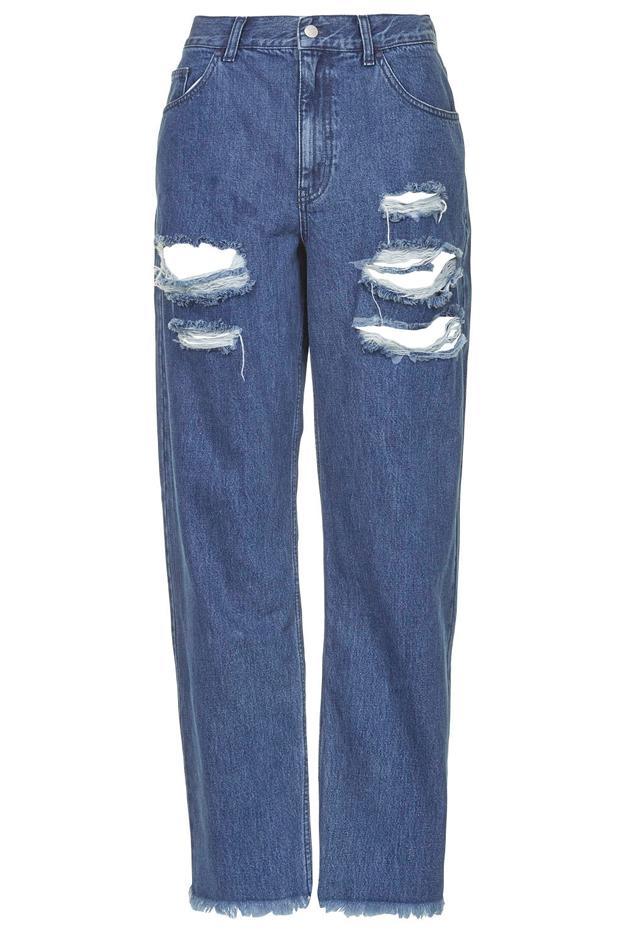 Marques'Almeida x Topshop Ripped Boyfriend Jeans