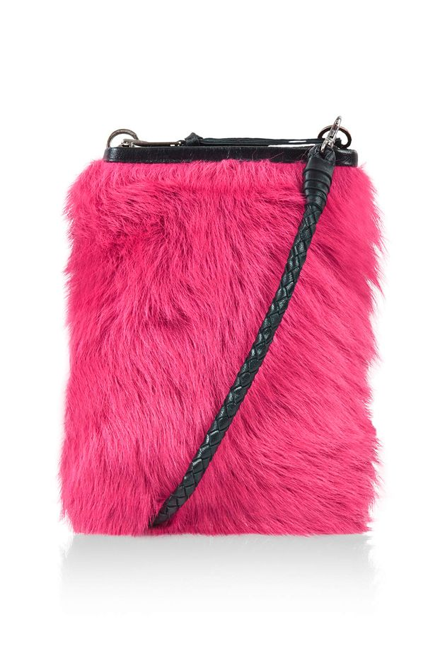 Marques'Almeida x Topshop Sheepskin Wallet Bag