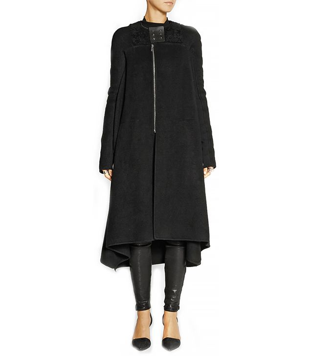 Rick Owens Black Coat