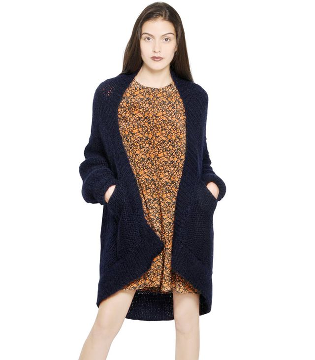 Mes Demoiselles Oversized Wool Cardigan