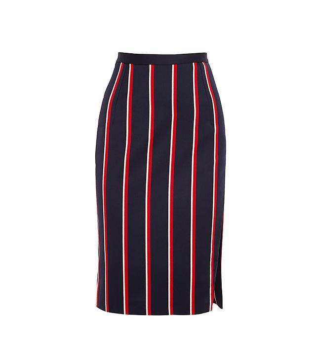Altuzarra Faun Wool and Cotton-Blend Skirt
