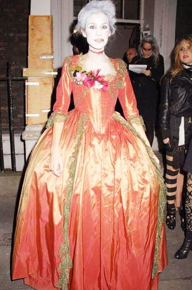 WHO: Alexa Chung  WHAT: If we had to take a guess, Chung was channeling the late Marie Antoinette for this 2008 Halloween bash.