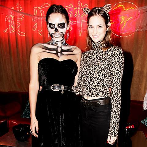 Fashion Celebrity Halloween Costume Ideas Laura Love Atlanta de Cadenet Taylor