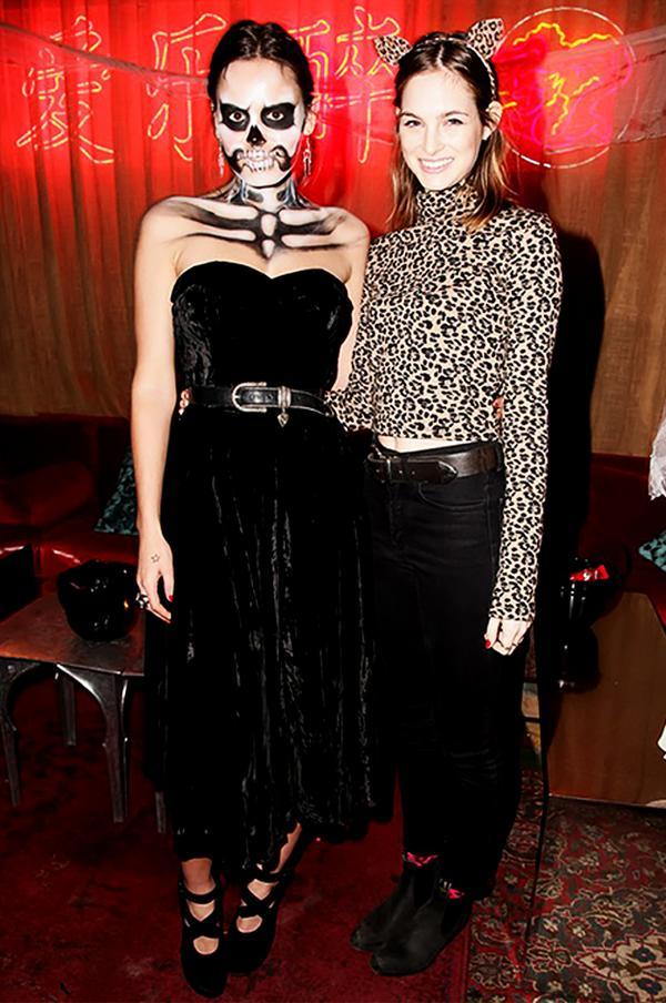 Atlanta de Cadenet Taylor and Laura Love