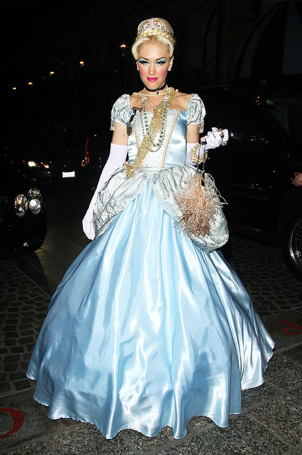 WHO: Gwen Stefani WHAT: Once upon a time in Los Angeles, Stefani dressed up as Cinderella with the chicest accessories we'd ever seen.