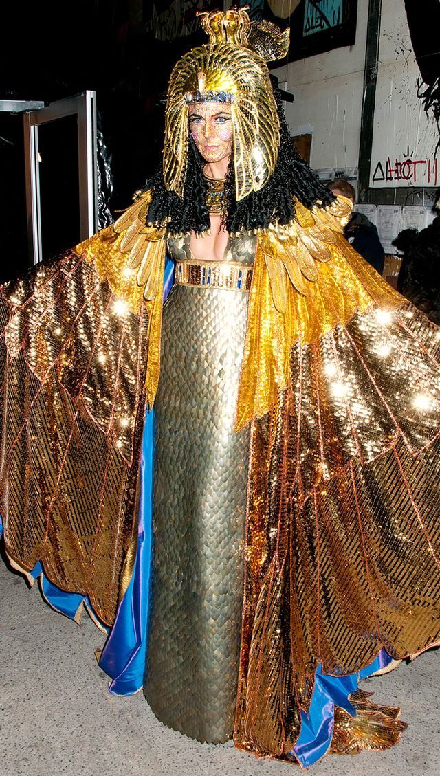 WHO: Heidi Klum  WHAT: It's difficult to pick a favourite Klum Halloween costume, but last year's Cleopatra might just take the cake.