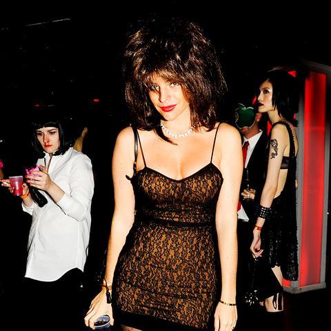 Fashion Celebrity Halloween Costume Ideas Julia Restoin Roitfeld