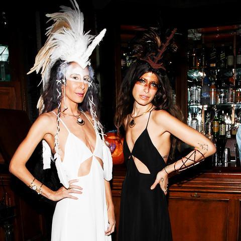 Fashion Celebrity Halloween Costume Ideas Mara Hoffman Pamela Love
