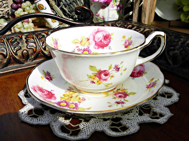 Etsy Hammersley Teacup and Saucer