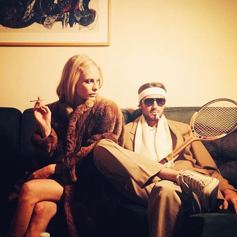 Fashion Celebrity Halloween Costume Ideas Poppy Delevingne