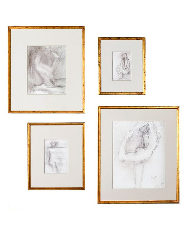 Restoration Hardware Gilt Gallery Frames