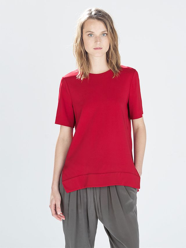 Zara Asymmetrical Top