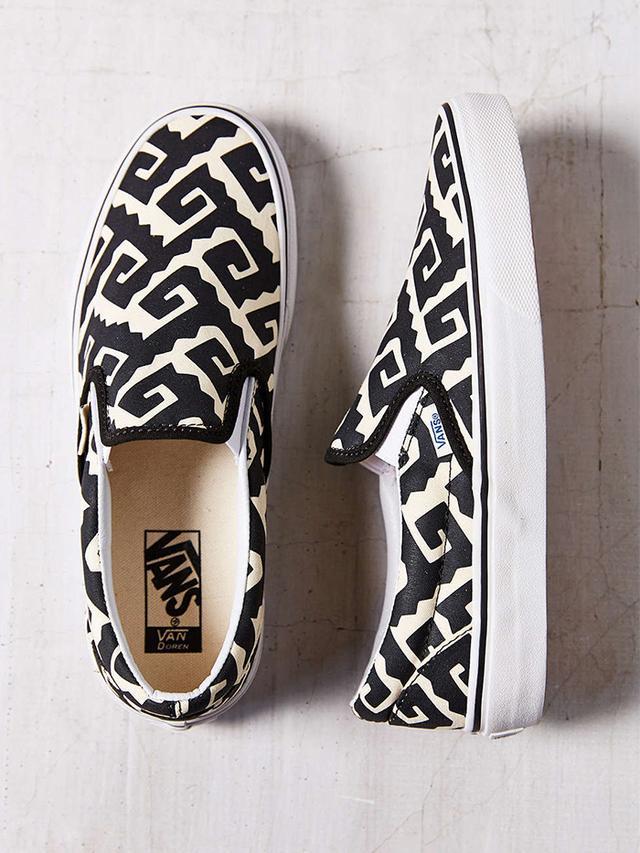 Vans Era Van Doren Geo Slip-On Sneakers