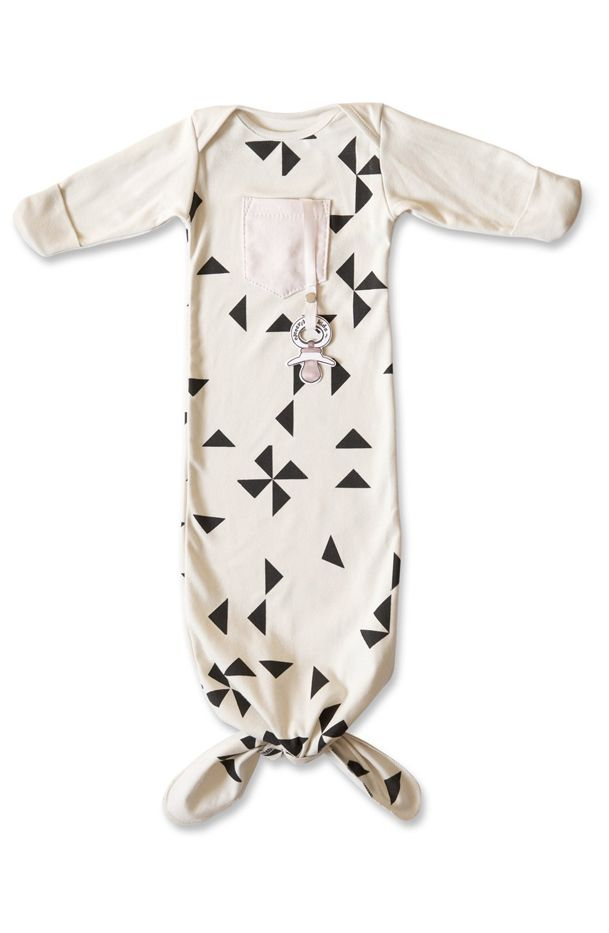 Electrik Kidz 'Prisme' Organic Cotton Gown