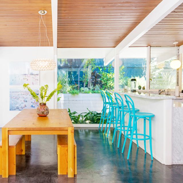Go Inside James Marsden's Classic Midcentury Home