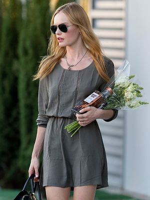 Kate Bosworth Brings Back Flatforms with Cool Pair of Wedges