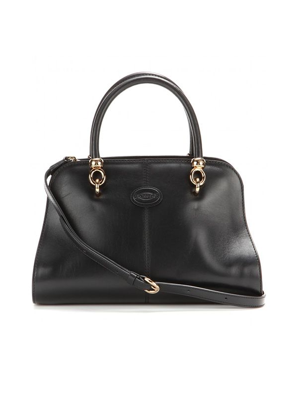 TOD'S Sellas Small Bowler Leather Bag