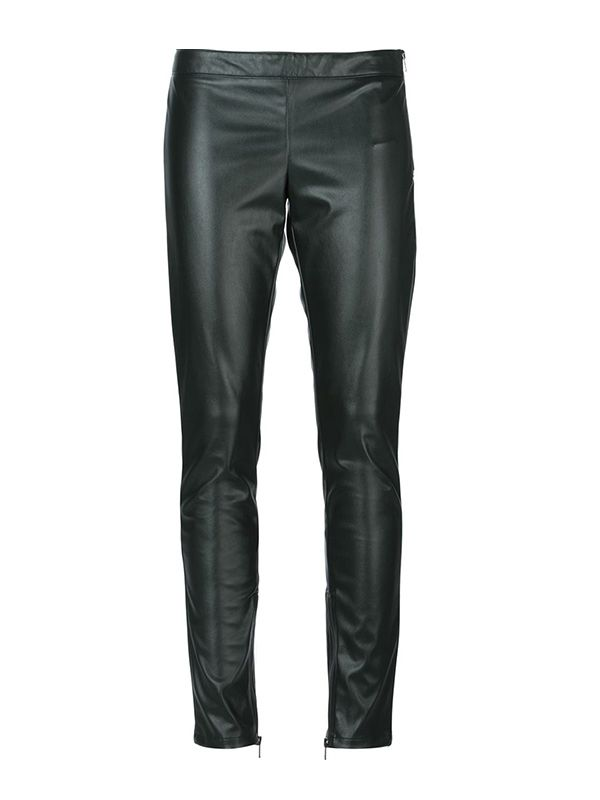 Costume National Side Zip Fastening Skinny Fit Trousers
