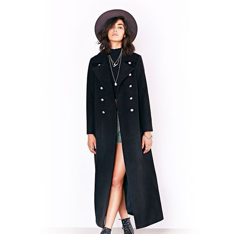 Military Blackout Duster Coat