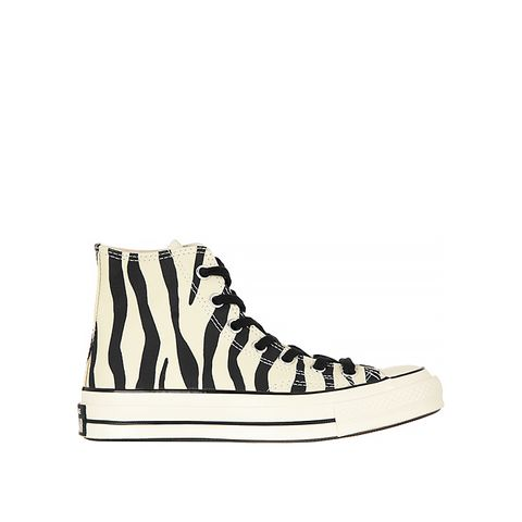All Star Printed Canvas High-Top Sneakers