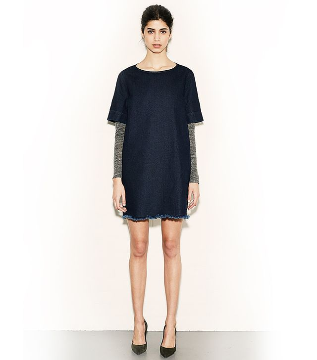 MiH Jeans The Tunic Straight Cut Dress